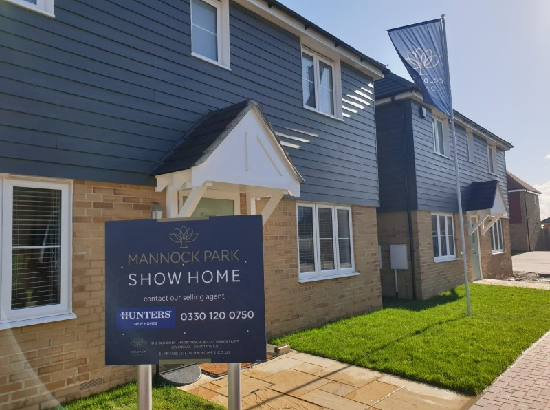 Mannock Park Show Home Now Open